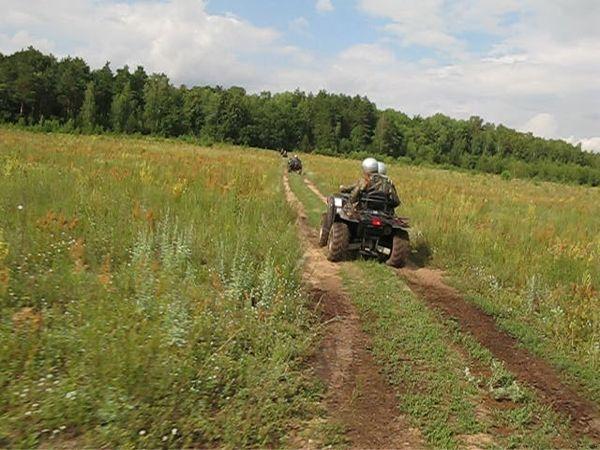 квадроциклы катание подмосковье выходных прокат фото269