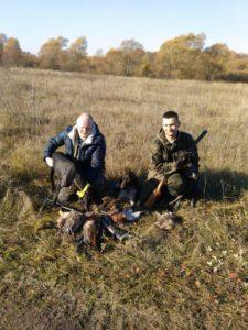 Охота на фазана в Подмосковье фото №297