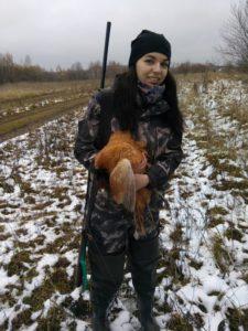 Охота на фазана в Подмосковье фото №302