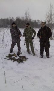 Охота на фазана в Подмосковье фото №345