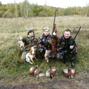 Охота на фазана в Подмосковье фото №358