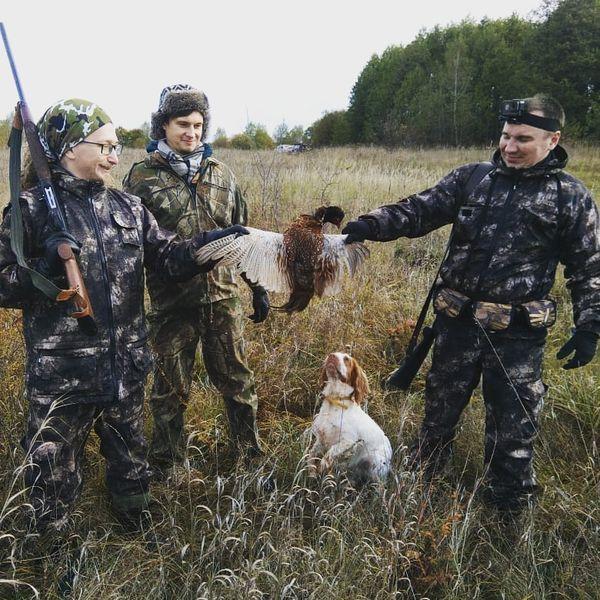 Охота на фазана в Подмосковье фото №359