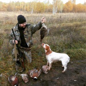 Охота на фазана в Подмосковье фото №366