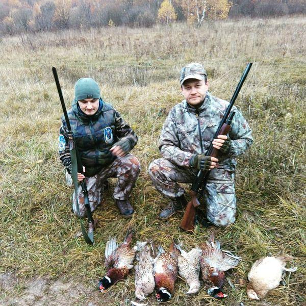 Охота на фазана в Подмосковье фото №368