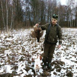 Охота на фазана в Подмосковье фото №377