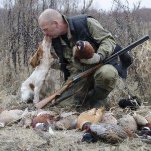 Охота на фазана в Подмосковье фото №388