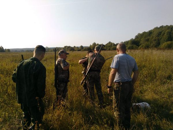 Охота на фазана в Подмосковье фото №424