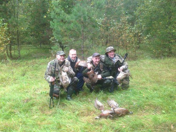 Охота на фазана в Подмосковье фото №445