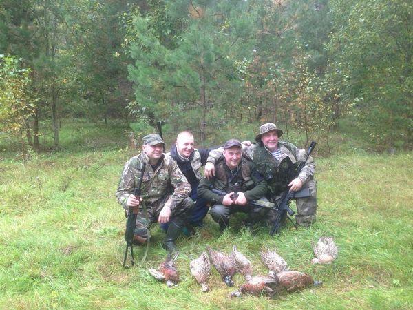 Охота на фазана в Подмосковье фото №448