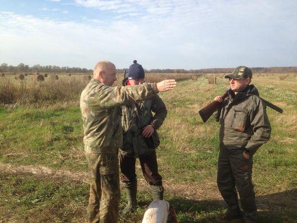 Охота на фазана в Подмосковье фото №463