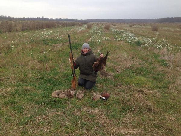 Охота на фазана в Подмосковье фото №497