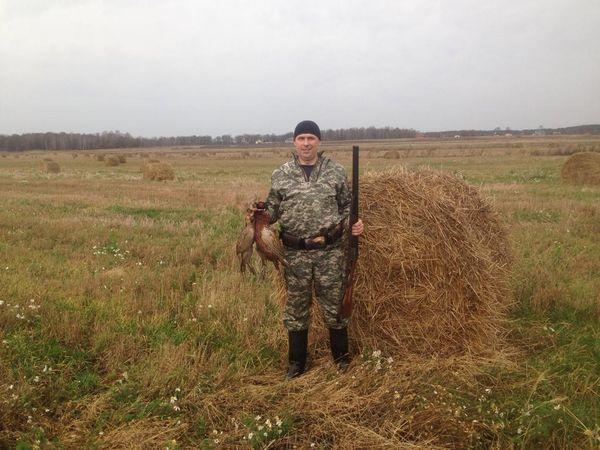 Охота на фазана в Подмосковье фото №520