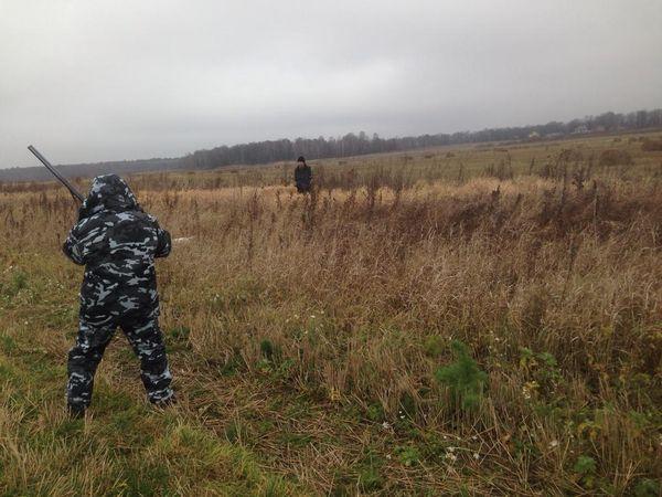 Охота на фазана в Подмосковье фото №529