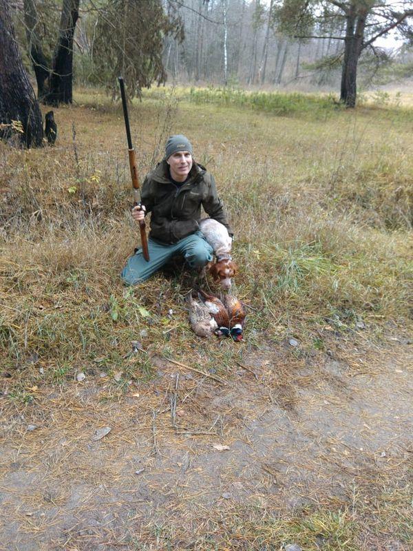 Охота на фазана в Подмосковье фото №539